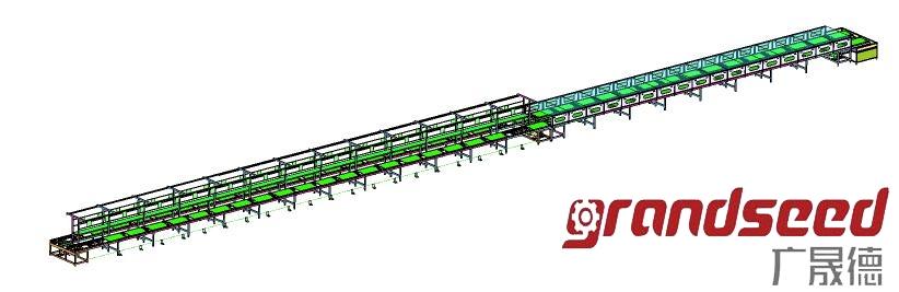 电磁炉生产线工程结构图